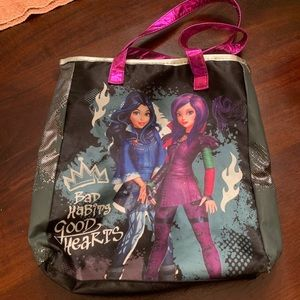 Disney Descendants book carry bag